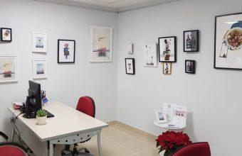 El arte  «Integrado en el espacio de trabajo»